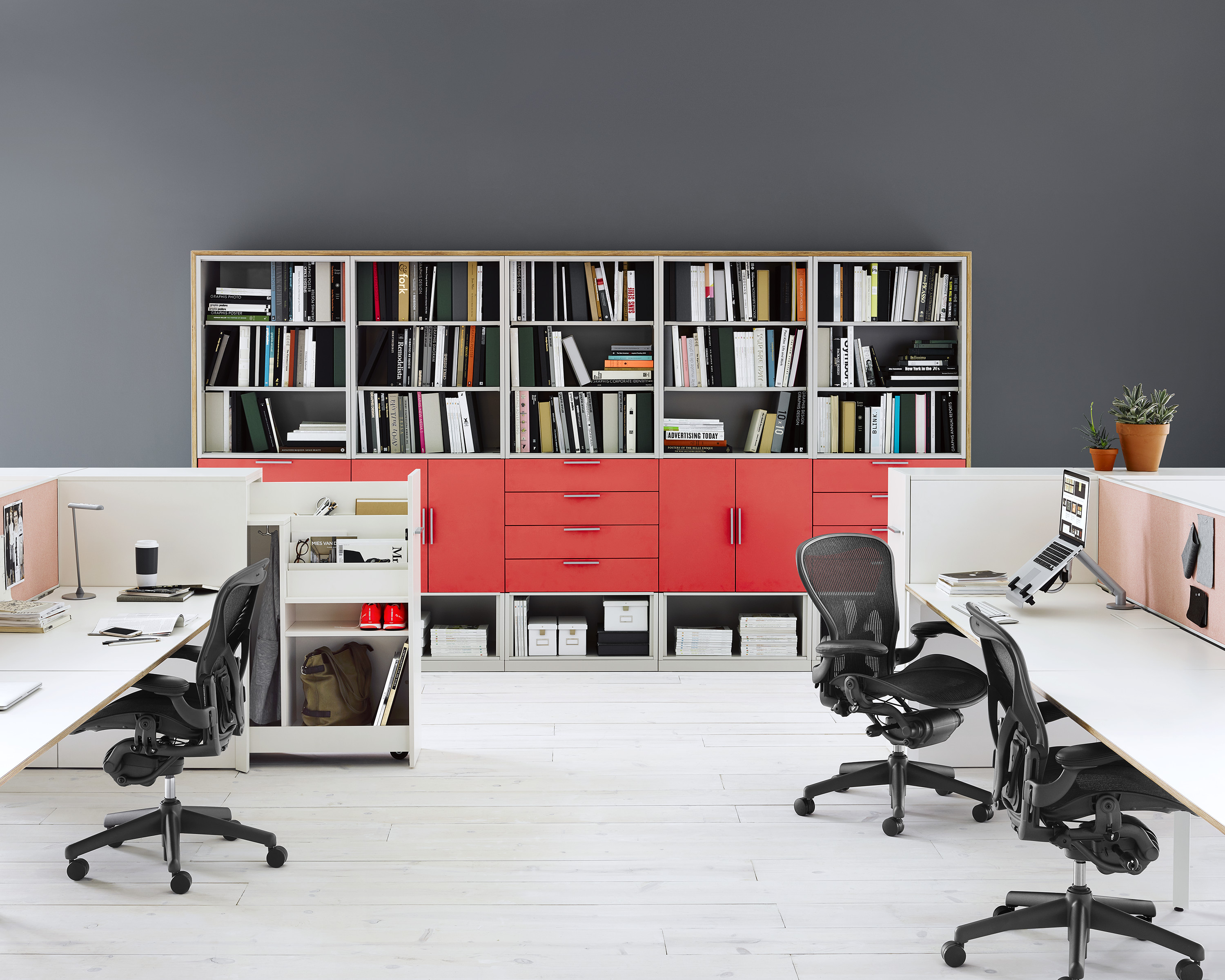 Herman Miller Storage Layout